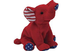 beanie babies righty patriotic elephant stars