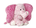 aurora world love time pink elephant