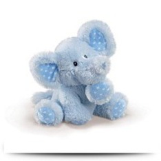 8 Blue Elliefumps Elephant