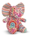 melissa doug sally elephant rainbow-striped ears