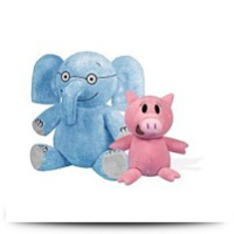 Elephant 7 And Piggie 5 Soft Toys