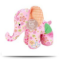 Patchwork Elephant Stuffed Toy
