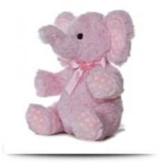 Buy Now Plush Baby 12 Inches Pink Lotsa Dots