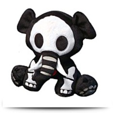 Skelanimals Encore Deluxe Ellie Plush
