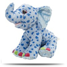 Sweet And Sassy Blue Elephant