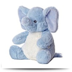 Sweet And Softer Blue Elephant 11 Plush