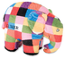 elmer patchwork elephant bean kids preferred