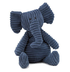cordy navy blue elephant jellycat established