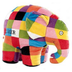 elmer patchwork elephant plush kids preferred