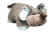pillow pets nutty elephant style super